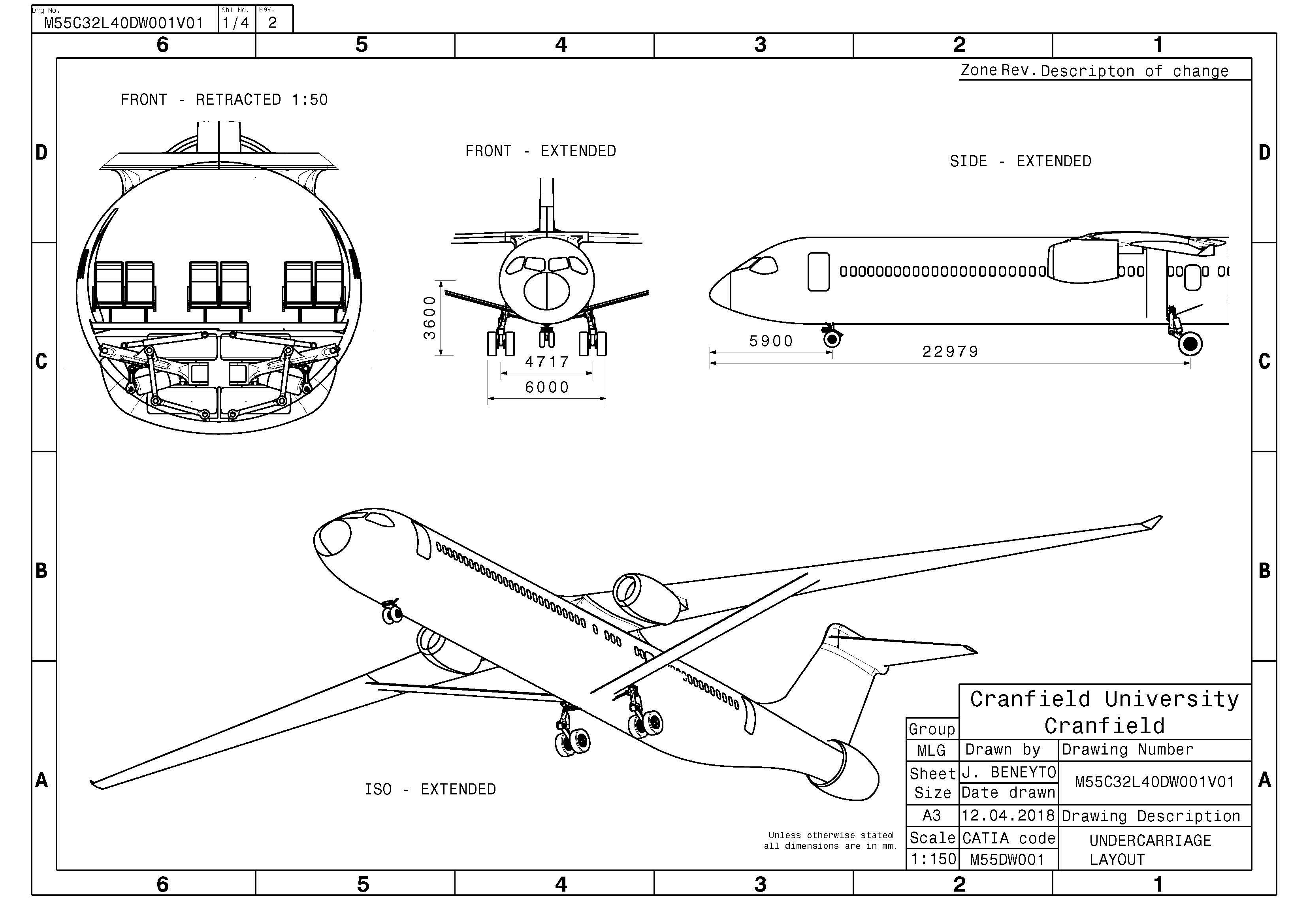 Aircraft Retracting Main Landing Gear | 3DS Academy